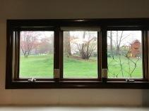 Living Room - Bronze Window Film